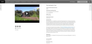 The Sanhedrin Trail Entry, Screen-grab from CHAR