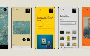 Van Gogh Museum new website - mobile